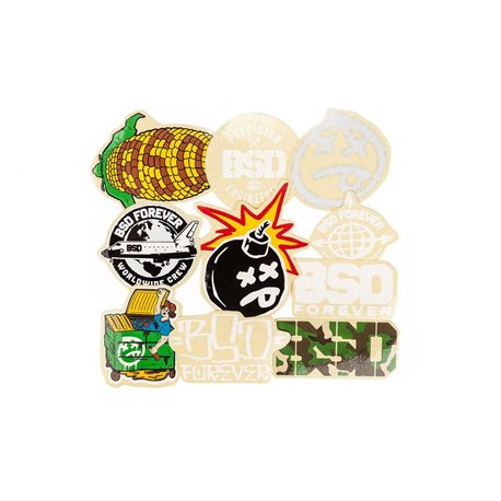 BSD 2018 stickerpack