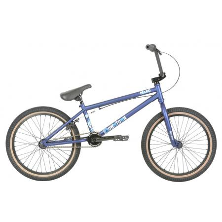 Haro 2019 Downtown 20.5 Matte Blue BMX bike