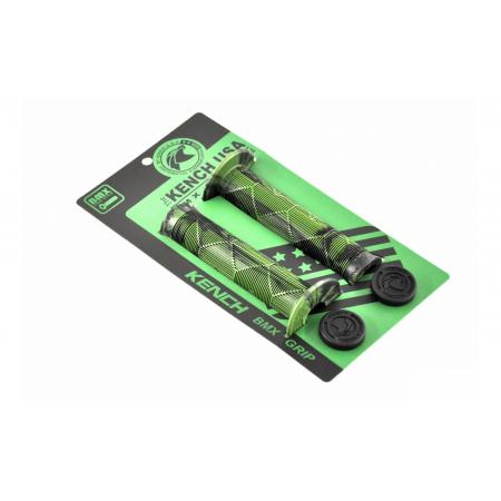 KENCH black with green grips