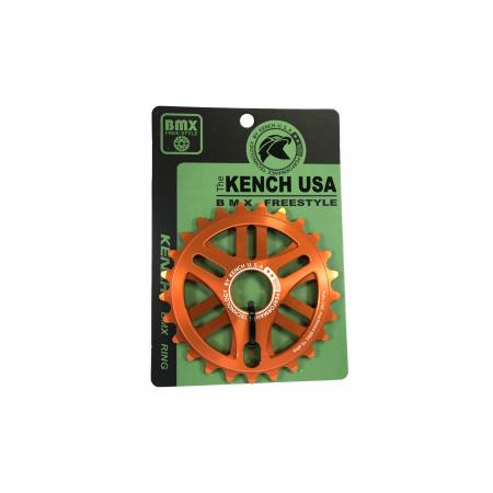 KENCH 6mm 25T CNC orange sprocket
