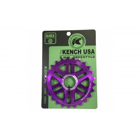 KENCH 6mm 25T CNC purple sprocket