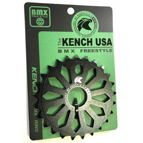 KENCH 6mm 25T CNC black sprocket