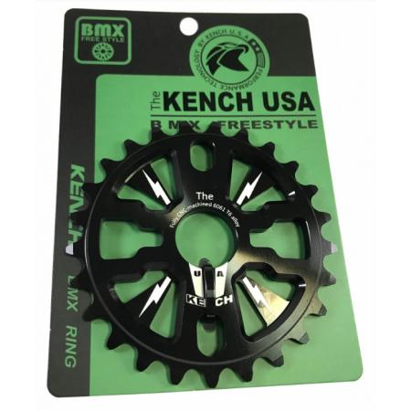 KENCH RN2 25T CNC black sprocket