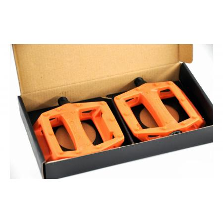 KENCH nylon PC orange pedals