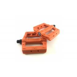 KENCH Slim nylon PC orange pedals