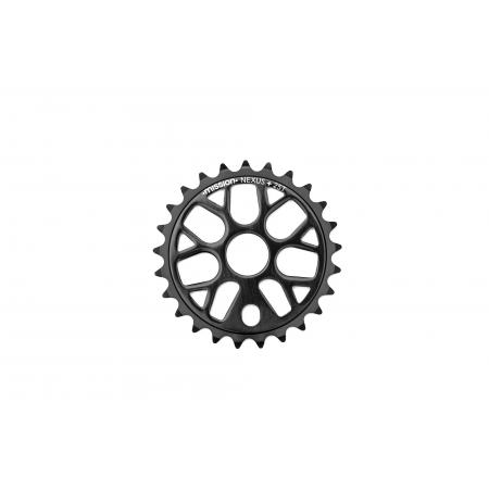 Mission Nexus black 25T sprocket