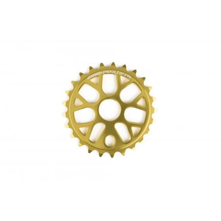 Mission Nexus gold 25T sprocket