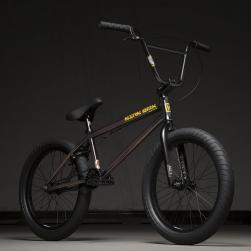 Kink Gap 20.5 2020 Gloss Rootbeer Fade BMX Bike