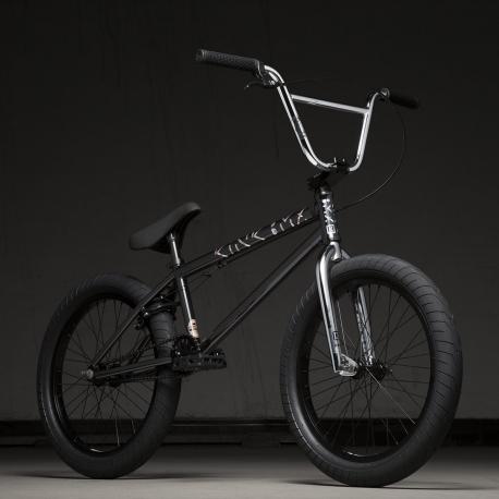 Kink Launch 20.25 2020 Gloss Guinness Black BMX Bike