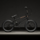 Kink Pump 14 2020 Matte Guinness Black BMX Bike
