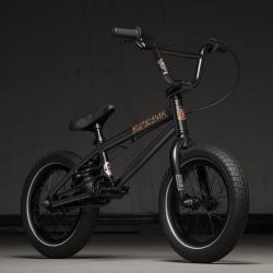 Велосипед BMX Kink Pump 14 матовый Guinness черный 2020