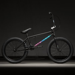 Велосипед BMX Kink Whip 20.5 Глянцевый черный исчезающий 2020