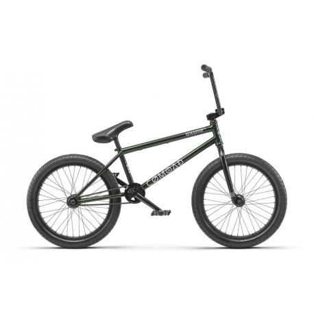 Велосипед BMX Radio COMRAD 21 черный с зеленый слоеный 2019