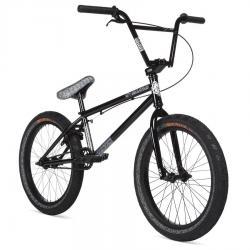 Велосипед BMX STOLEN OVERLORD 2020 20.25 черный с отражающим серым