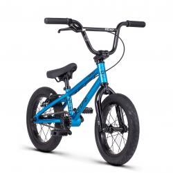 Велосипед BMX Radio REVO 14 2020 14.5 металлик серо-голубой