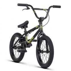Велосипед BMX Radio REVO 16 2020 15.75 глянцевый черный