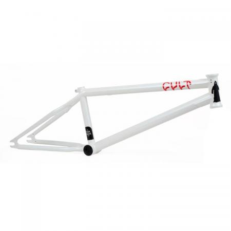 Cult Chase Hawk 21.25 Pearl White BMX Frame