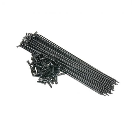 Spokes Primo 182 mm 50pcs. Black