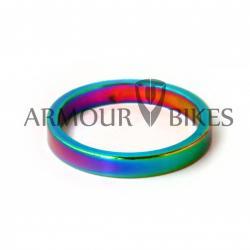 Проставочные кольца для рулевой Armour Bikes 5 мм (1шт) Oil Slick (нефтяное, масляное)