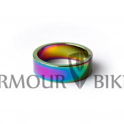 Проставочные кольца для рулевой Armour Bikes 10 мм (1шт) Oil Slick (нефтяное, масляное)