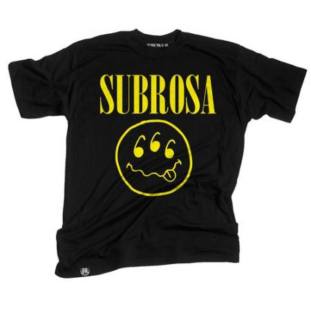 T-Shirts Subrosa Teen Spirit Xl Black