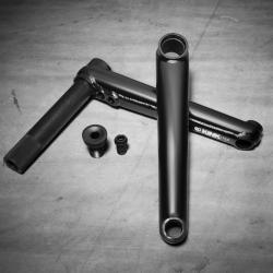 Шатуны BMX Kink Pillar 24 175 мм. черный lifetime Warranty