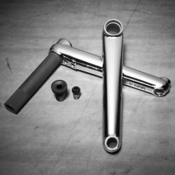 Шатуны BMX Kink Pillar 24 175 мм. хром lifetime Warranty