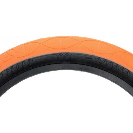 CULT AK 2.5 orange with black wall tire