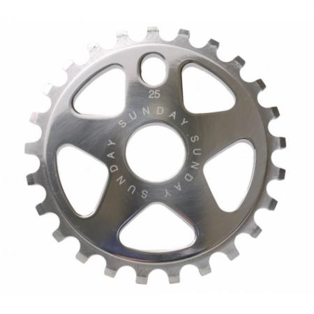 Sunday Sabretooth V2 25t Chrome Sprocket