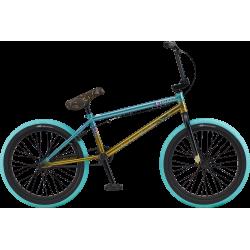 Велосипед BMX GT Mercado Team 2020 20.75 серо-зеленый с золотой