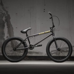 Велосипед BMX KINK Gap 2021 20.5 черный прозрачный