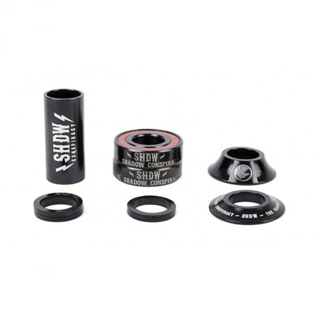 BB Shadow Stacked Mid 22 mm Black