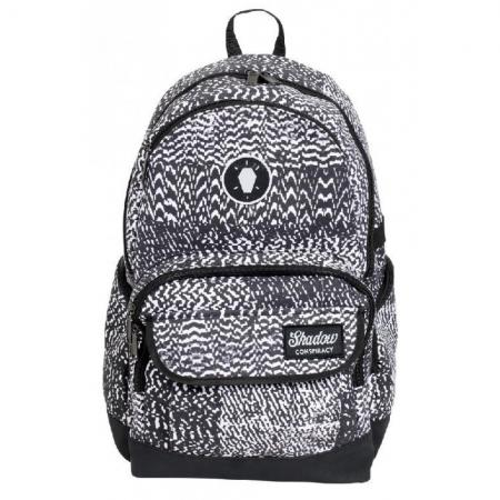 Backpack Shadow Static Backpack Black Black/White