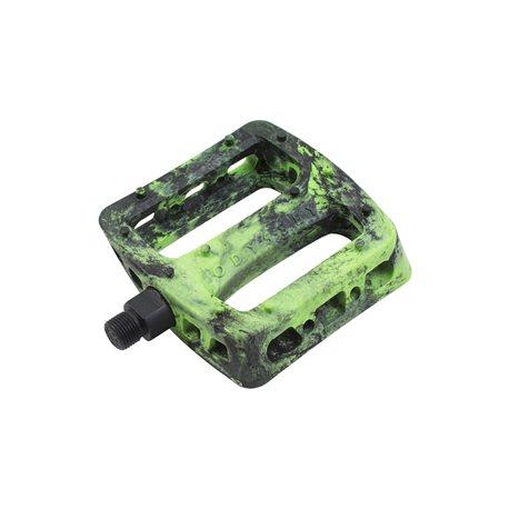 Педали Odyssey Twisted PRO PC черные с зеленым