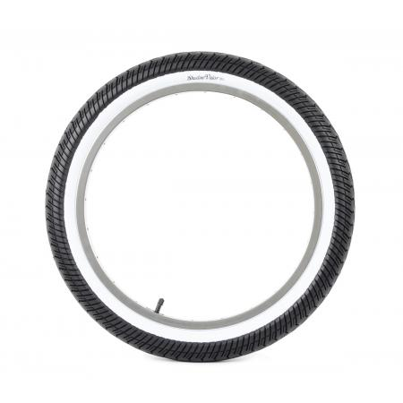 Shadow Valor 2.4 white wall tire