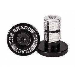 Shadow Deadbolt Chrome With orange Barends
