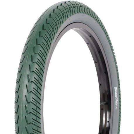 Shadow Valor 2.4 green with gray wall tire