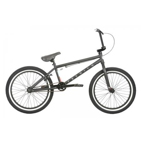 PREMIUM Stray Matte Black 2019 20.5 BMX Bike